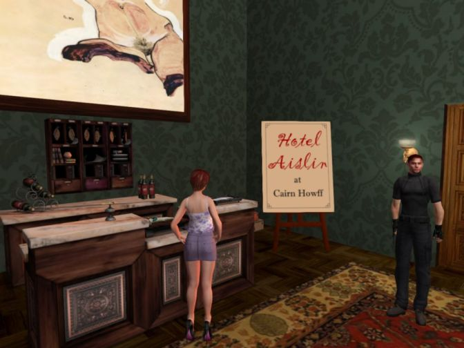 What Hotels are for in Second Life – Hotel Aislin at Cairn Howff
