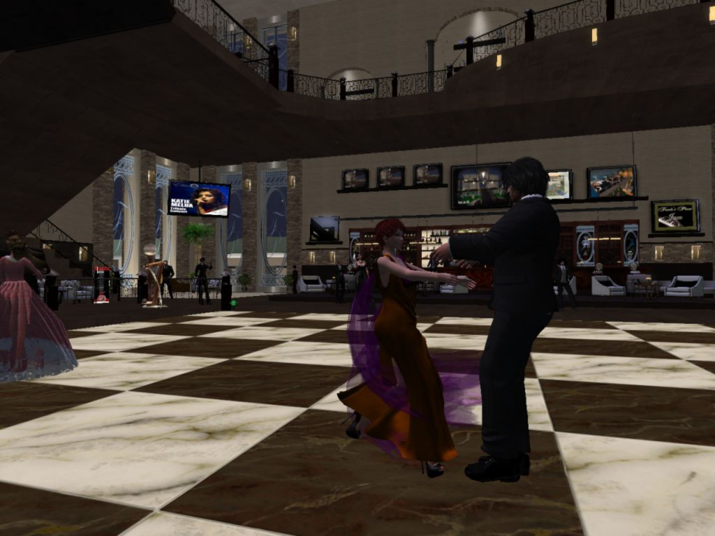 At Frank's Jazz Club in Second Life