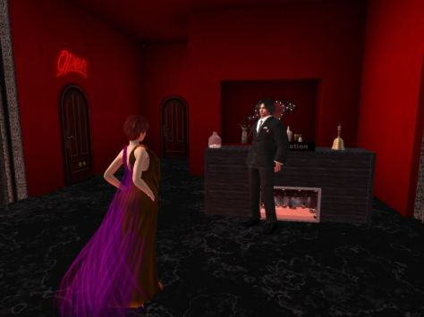 Reception of Hotel Privilege in Second Life