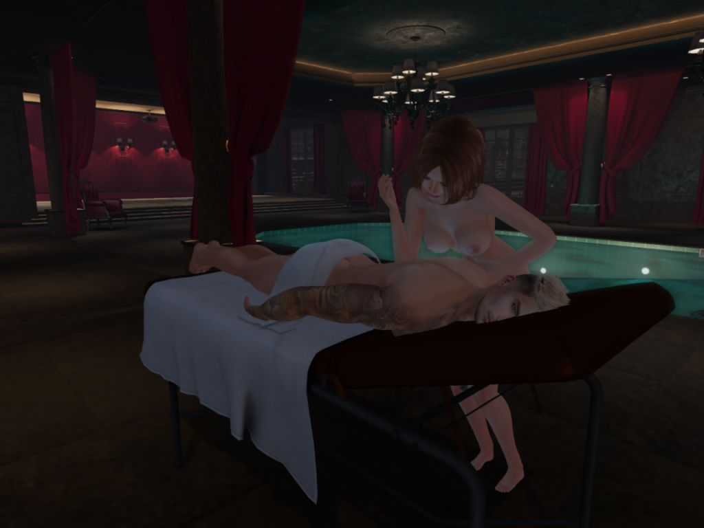 Chamber Hotel Spa in Second Life