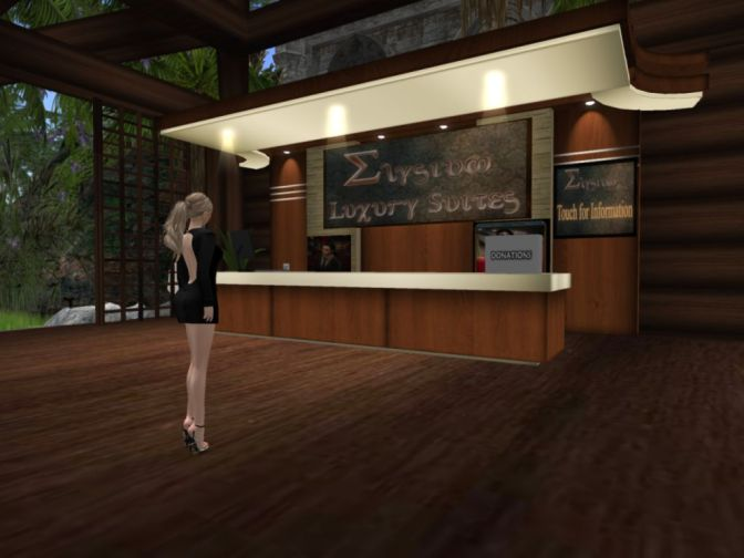 What Hotels are For in Second Life – The Elysium Luxury Suites