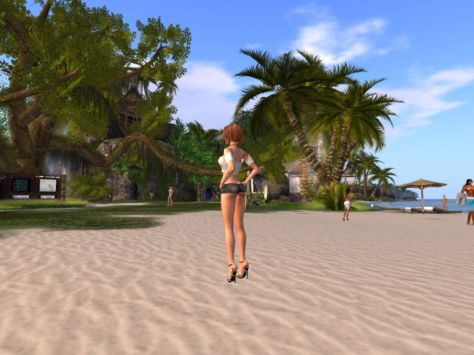 Secret Beach in Second Life