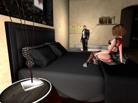 Second Life Noob in Caroline's Mansion